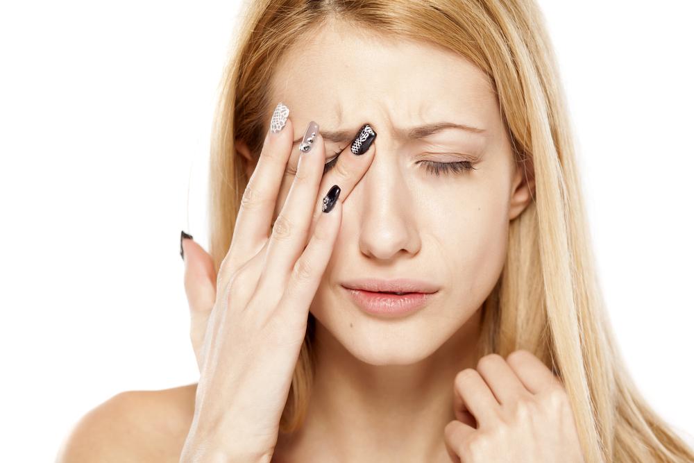 a felső szemhéj vörös foltos kezelésén